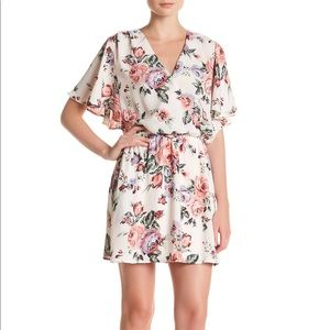 Dresses & Skirts - Surplice Neck Floral Dress
